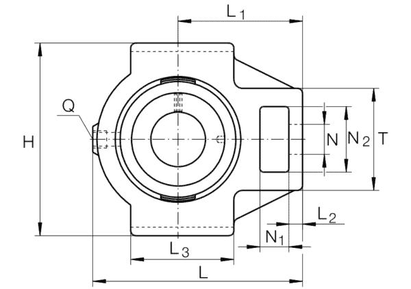 INA PTUE60-XL