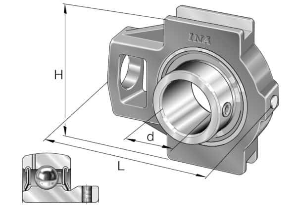 INA PTUEY60-XL