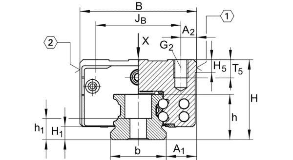 INA KWVE45-B-ESC-V2-G4